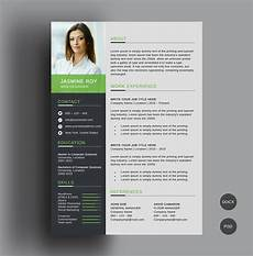 Free Cv Free Clean Cv Resume Template On Behance