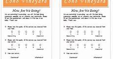Restaurant Survey Template Document Templates Free Restaurant Survey Template For Word