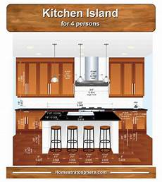 size of kitchen island with seating 54 types of kitchen islands styles options sizes and more