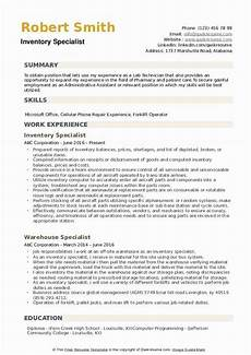 Inventory Skills Resumes Inventory Control Specialist Resume Lovely Inventory