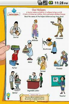 Our Helpers Chart Our Helpers For Ukg Kids For Android Apk Download