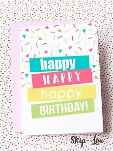 Printable Happy Birthday Cards Online Free Free Printable Happy Birthday Card Need A Last Minute