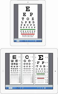 Eye Chart Ipad Digitizing Patient Education Amp Point Of Care Exams