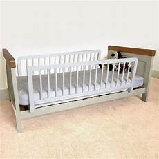 safetots sided wooden bed rail toddler bed