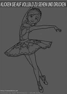ballerina 4 ausmalbild