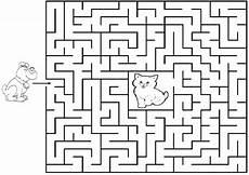 labyrinthe 2 ausmalbilder und basteln mit kindern