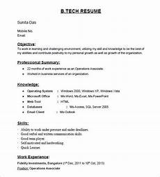 Resume Format Of Fresher 16 Resume Templates For Freshers Pdf Doc Free