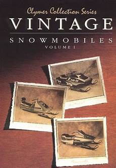 Vintage Snowmobile Manual Service Repair Manuals