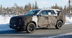 2019 hyundai 8 passenger spied new hyundai 8 seater size suv coming in 2019