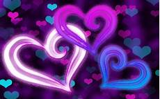 Heart And Lights 2015 Abstract Hearts Hd Wallpaper Background Image
