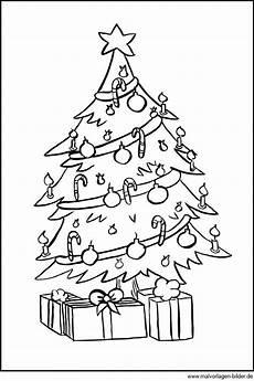 Ausmalbilder Weihnachten Tannenbaum Ausmalbild Weihnachtsbaum Und Geschenke Zum Ausdrucken