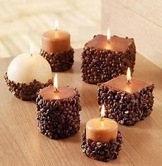 candele strane candele di natale decorate con chicchi di caff 232 ultime