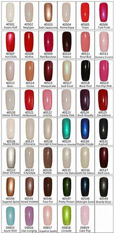 Bluesky Shellac Colour Chart Who Else Has Incredible Difficulty Choosing A Color At The