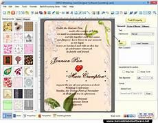 Invitation Design Software For Mac Wedding Card Maker Software Designs Printable Wedding