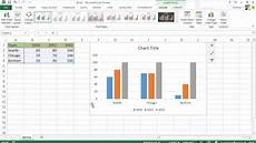 Excel 2013 Chart Wizard Excel 2013 Diagramme Charts Neu In Office 2013 Youtube