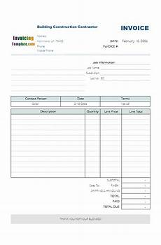Vat Bill Format In Excel Excel Monthly Bill Template Download