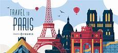 Paris Designs Travel To Paris Poster Illustration Vector Download