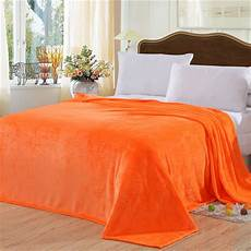2017 blanket orange yellow solid warm and portable color