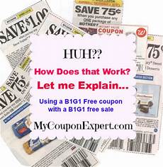Bogo Chart For Couponing Caroline S Coupon Tips How To Use A B1g1 Free Coupon With