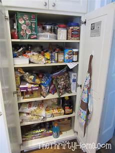 Organizing Pantry Shelves The Thrifty Home Pantry Organization
