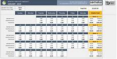 Employee Time Tracking Excel Monthly Employee Timesheet Template Free Excel Timesheet