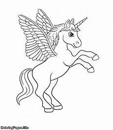 unicorn with wings drawing at getdrawings free