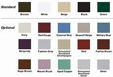 Wrisco Aluminum Color Chart Aluminum Windows Color Chart Oridow Industrial Limited