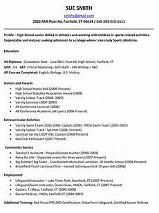 Sample Resumes For High School Students Example Resume For High School Students For College