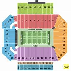 Ou Football Seating Chart Oklahoma Memorial Stadium Seating Chart Amp Maps Norman