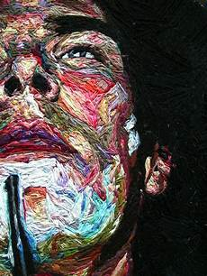 embroidery portrait embroidered portraits by julie sarloutte