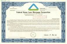 Federal Home Loan Mortgage Corporation Collectible Banking Bonds