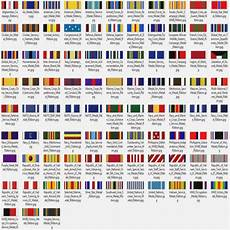 Army Ribbons Chart Marine Corps Medals In Order Wwii Ribbon Chart Army Ribons