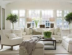 Decorating With White 22 Cozy Traditional Living Room Indoor Plant Modern White