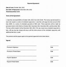 Free Payment Contract Template Payment Plan Agreement Template 12 Free Word Pdf