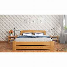 new solid wooden pine king size bed 6ft uk size f1