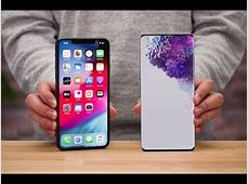 SAMSUNG GALAXY S20 ULTRA 5G   VS   IPHONE 11 PRO Max