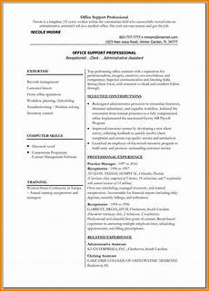 Cv Office Template 5 Medical Resume Templates Microsoft Word Professional