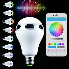 Medion Audio Led Light Bulb Speaker Bluetooth Control Music Audio Speaker Led Color Bulb Light