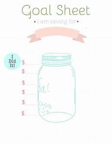 Savings Goal Chart Goal Sheet Jpg 2 550 215 3 300 Pixels Saving Money Chart