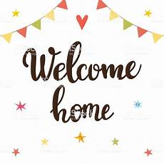 Welcome Back Poster Welcome Home Inspirational Quote Hand Drawn Lettering