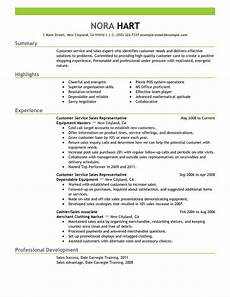 Resume Templates For Customer Service Representatives Unforgettable Customer Service Representatives Resume