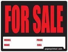 For Sale Sign For Car Car For Sale Sign Pdf Car For Sale Sign 4 Runner 2009