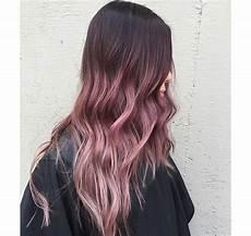 Light Brown Mauve Hair Mauve Hair Dye Ombre Color In 2019 Ombre Hair Color