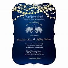 Summer Elephant Light Tons Of Love Elephant Night Lights Wedding Invites