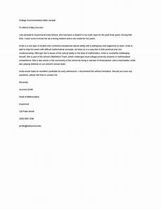 Letter Of Recommendation Sample Template 43 Free Letter Of Recommendation Templates Amp Samples