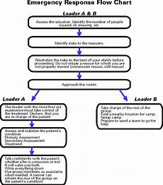 Emergency Procedure Flow Chart Oa Guide To General Emergency Procedures