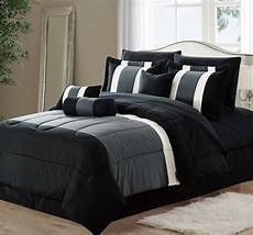 11 oversized black gray comforter set bedding with