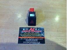 Skoda Fabia Oil Warning Light Genuine 07 14 Skoda Fabia Mk2 Hazard Warning Light Switch