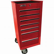 homak 17in pro series 7 drawer side cabinet northern