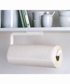 simply organized hanging paper towel holder wall